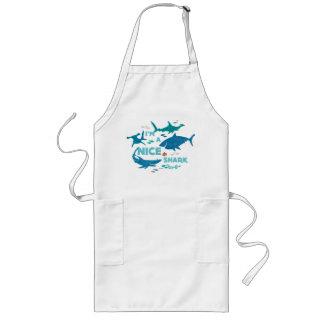 Nemo and Sharks - I'm A Nice Shark Long Apron