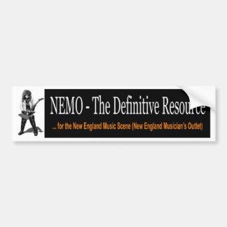 NEMO Bumper Sticker