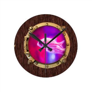 Nemo Collection Round Clock