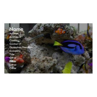 Nemo con su cuadrilla tarjetas de visita