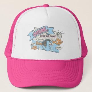 Nemo, Dory & Marlin | Ocean Here we Come Trucker Hat