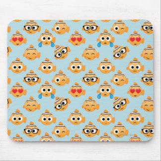 Nemo Emoji Pattern Mouse Pad