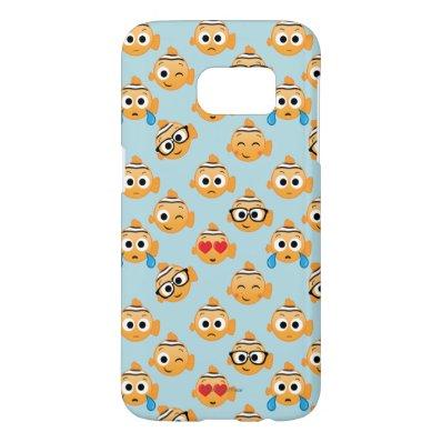 Nemo Emoji Pattern Samsung Galaxy S7 Case