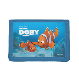 Nemo & Marlin Tri-fold Wallets