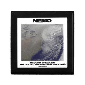 Nemo Record Breaking Winter Storm For New England Jewelry Box