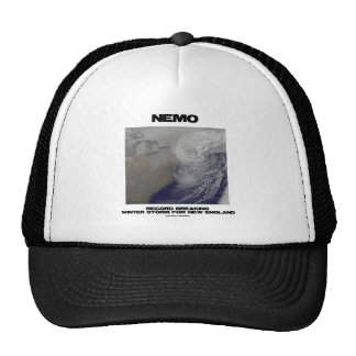 Nemo Record Breaking Winter Storm For New England Trucker Hat