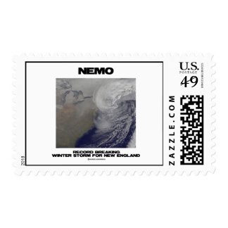 Nemo Record Breaking Winter Storm For New England Stamps