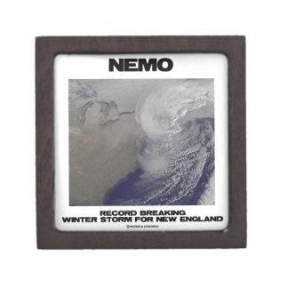 Nemo Record Breaking Winter Storm For New England Premium Keepsake Box
