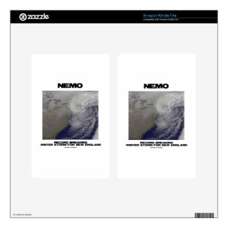 Nemo Record Breaking Winter Storm For New England Kindle Fire Decals