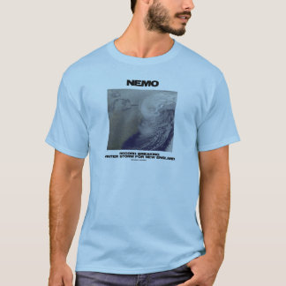 Nemo Record Breaking Winter Storm For New England T-Shirt