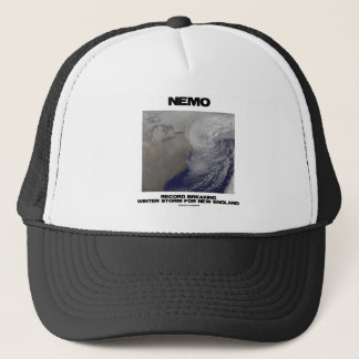 Nemo Record Breaking Winter Storm For New England Trucker Hat