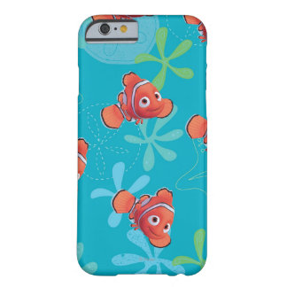 Nemo Teal Pattern Barely There iPhone 6 Case