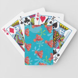 Playing Cards with Cute Nemo of Finding Nemo design