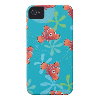 Nemo Teal Pattern iPhone 4 Cover