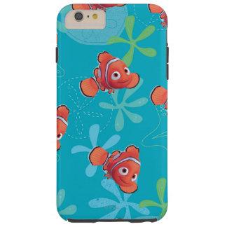 Nemo Teal Pattern Tough iPhone 6 Plus Case