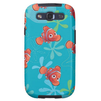 Nemo Teal Pattern Galaxy SIII Cases