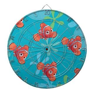 Nemo Teal Pattern Dartboards