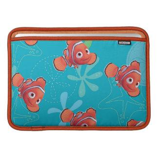 Nemo Teal Pattern Sleeves For MacBook Air