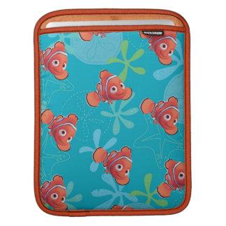 Nemo Teal Pattern iPad Sleeves
