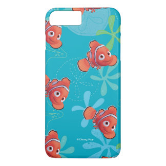 Nemo Teal Pattern iPhone 7 Plus Case