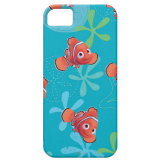 Nemo Teal Pattern iPhone SE/5/5s Case
