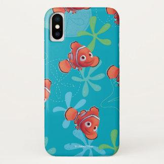 Nemo Teal Pattern iPhone X Case