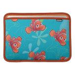 Nemo Teal Pattern MacBook Air Sleeve