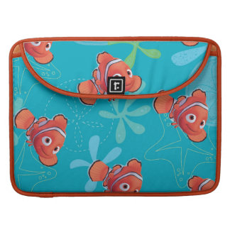 Nemo Teal Pattern Sleeve For MacBook Pro