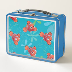 Metal Lunch Box with Cute Nemo of Finding Nemo design