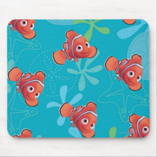 Nemo Teal Pattern Mousepads