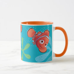 Combo Mug with Cute Nemo of Finding Nemo design