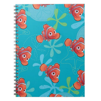 Nemo Teal Pattern Note Book