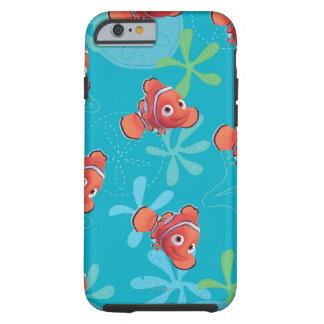 Nemo Teal Pattern Tough iPhone 6 Case