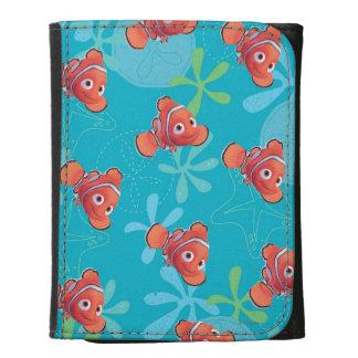 Nemo Teal Pattern Wallets