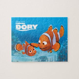 Nemo y aguja rompecabeza con fotos