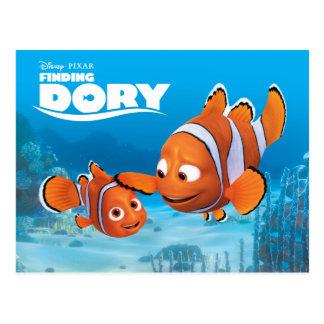 Nemo y aguja tarjetas postales