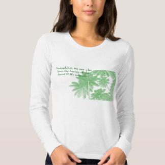 Nemophilist-one que ama la belleza del bosque remeras