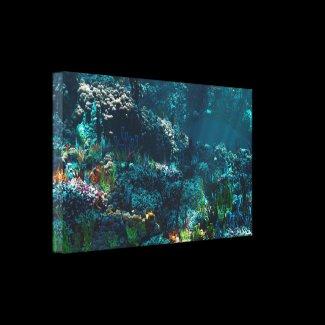 Nemo's Garden Canvas Print