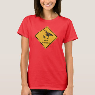 Nene Crossing, Traffic Warning Sign, Hawaii, USA T-Shirt