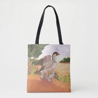 Nene (Hawaiian Goose) Tote Bag