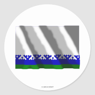 Nenets Autonomous Okrug Flag Classic Round Sticker