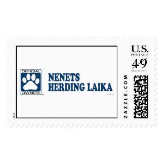 Nenets Herding Laika Blue Postage Stamps