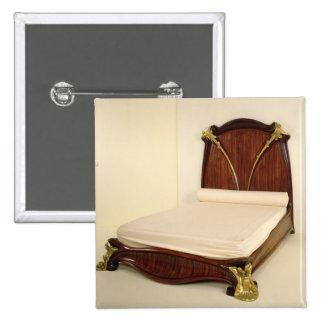 Nenuphar bed, 1905-09 pinback button