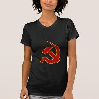 Neo Dark Red & Yellow Hammer & Sickle Tee Shirt