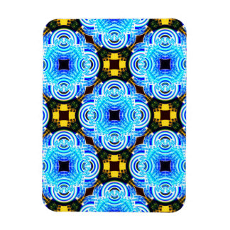Neo Flower Pattern Big Inverted Magnets
