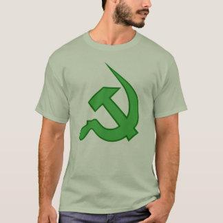 Neo Light & Dark Green Hammer & Sickle T-Shirt