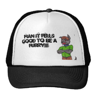 Neo, MAN IT FELLSGOOD TO BE AFURRY!!! Trucker Hat