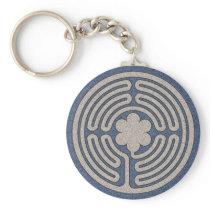 Neo Medieval Labyrinth Keychain