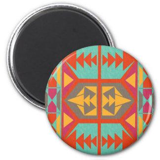 Neo Native Tribal Fridge Magnet