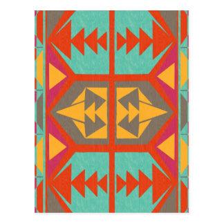 Neo Native Tribal Postcard